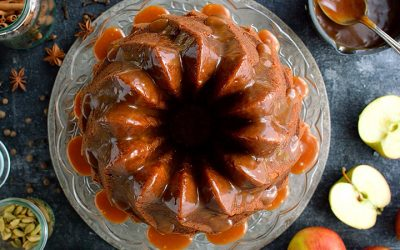 Fresh Applie Nut Cake
